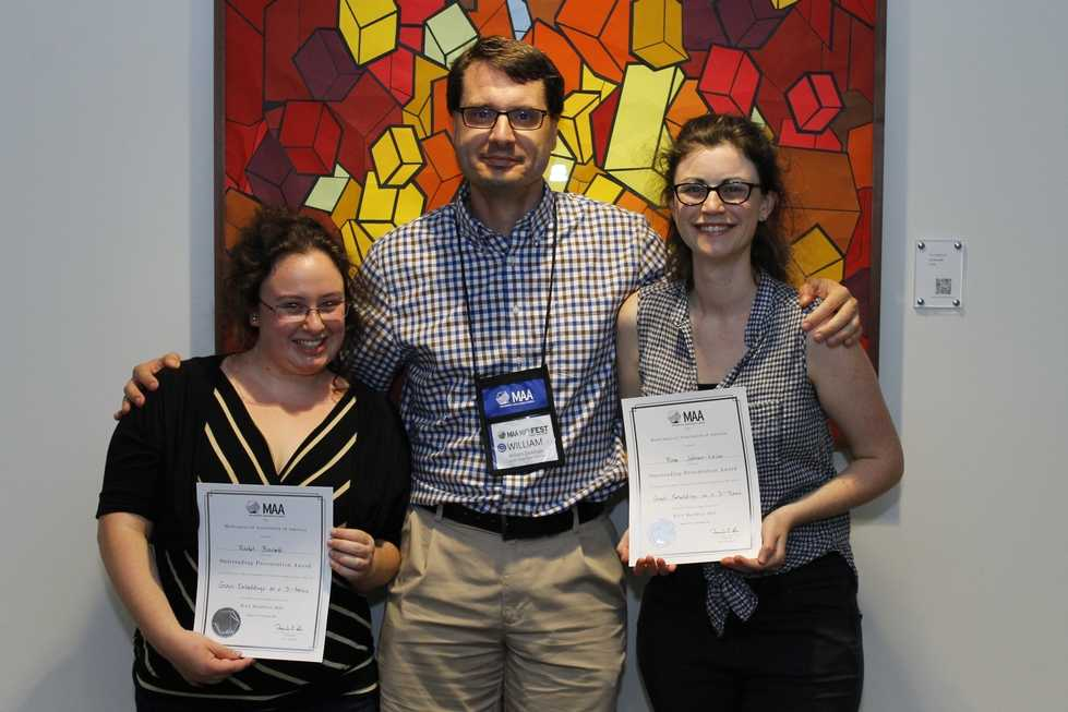 2016 REU Award Winners